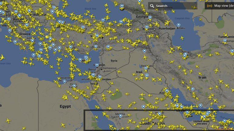 EUCOM a ordonat avioanelor civile să evite Siria