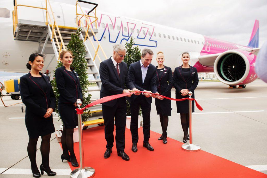 WIZZ AIR a recepționat prima aeronavă Airbus A321neo, compania spune că acest lucru reprezintă un mare avantaj