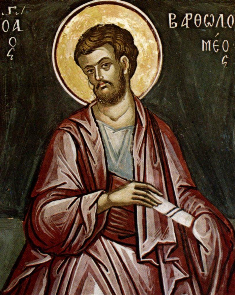 Calendar ortodox 25 august Sfantul   Bartolomeu