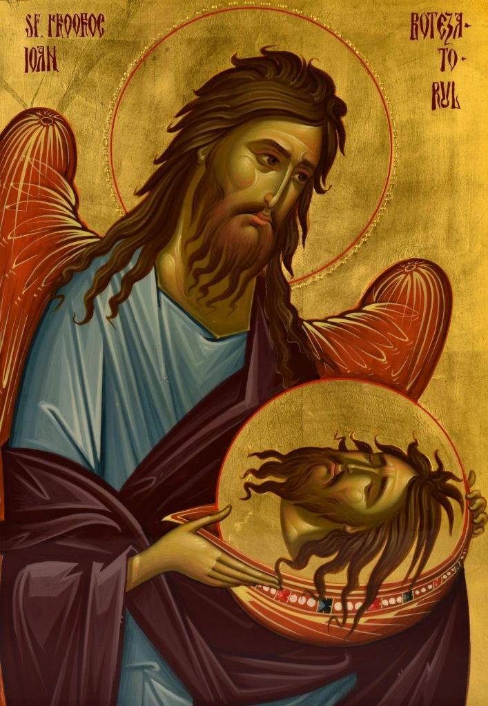 Taierea capului Sfantului Ioan Botezatorul pe 29 august, sărbătoare foarte mare
