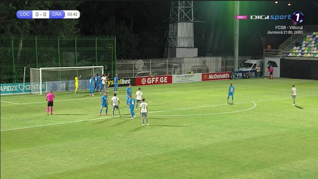 Tbilisi - Universitatea Craiova SCOR. LIVE video și LIVE text Europa League