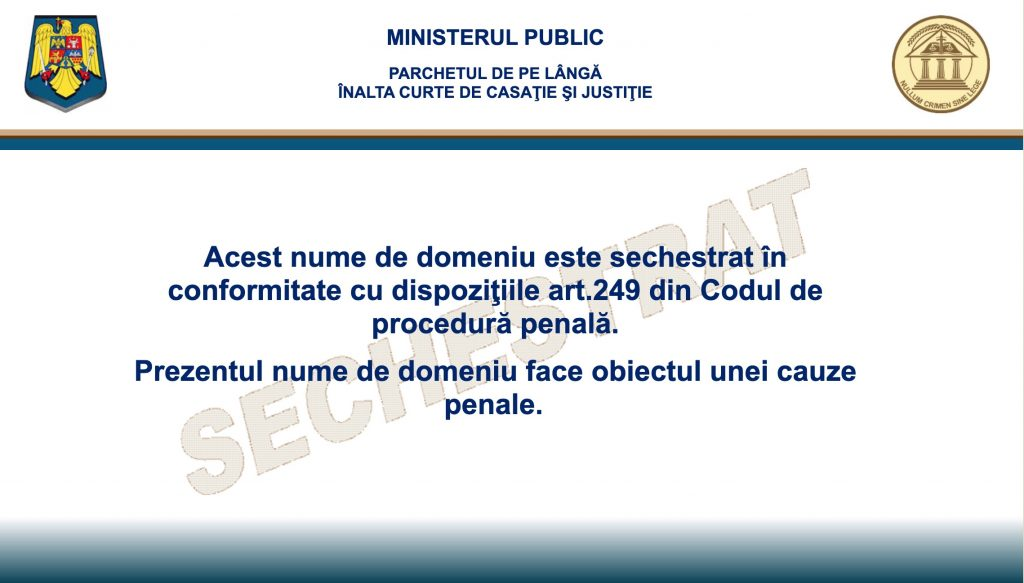 Filelist.ro confiscat de autoritati