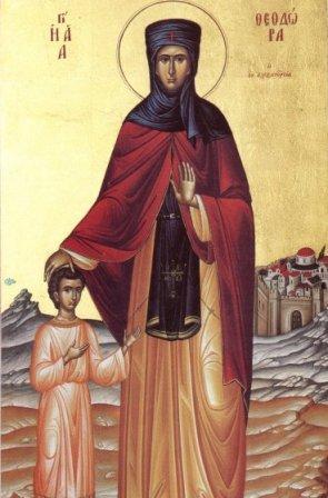 Calendar Ortodox 11 septembrie Sfanta Teodora