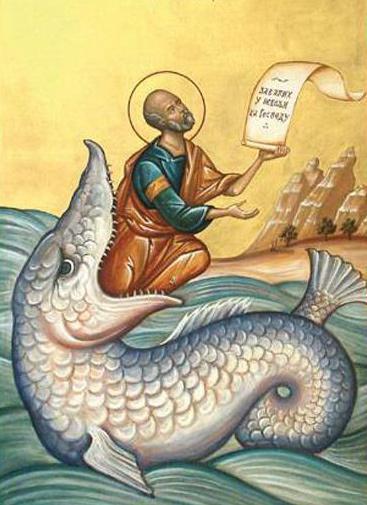 Sfantul Proroc Iona; Sfantul Apostol Codrat zi speciala pentru cei plecati de langa noi