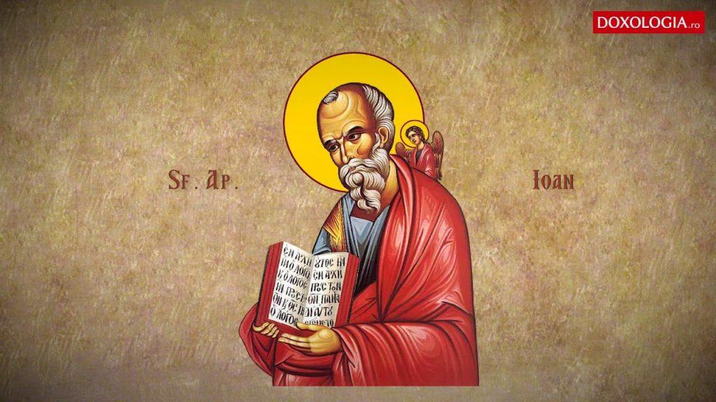 Sfantul Ioan Evanghelistul pomenit in Calendarul Ortodox pe 26 septembrie