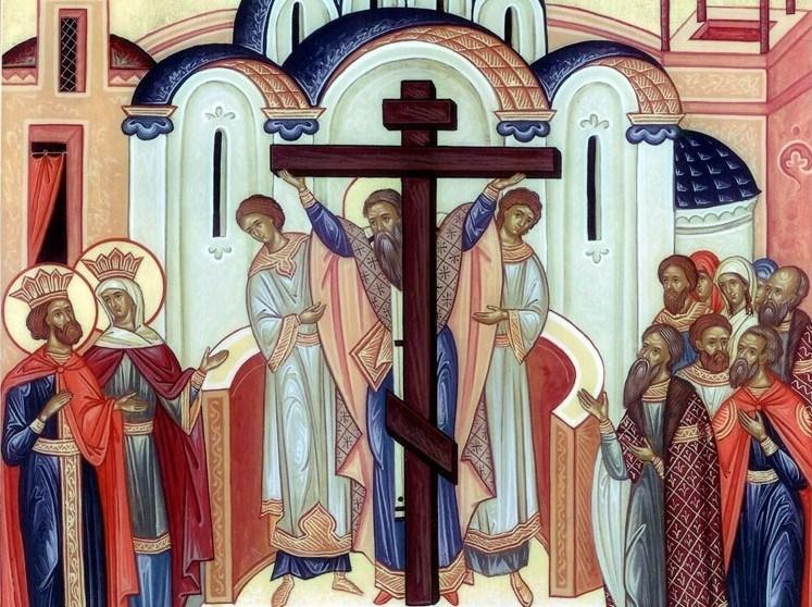 Calendar Ortodox 14 septembrie Inaltarea Sfintei Cruci