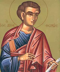 Sfantul Apostol Toma Calendar Ortodox 6 octombrie