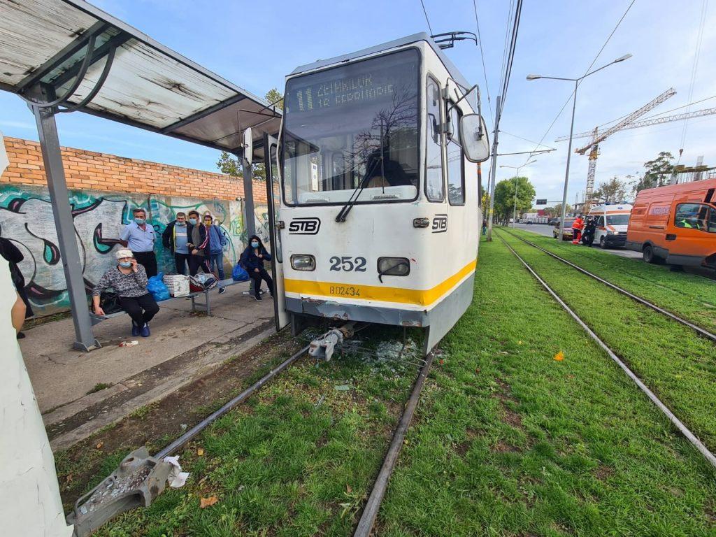 Accident Bucuresti Tramvai