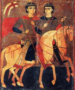 Sfintii Mucenici Serghie si Vah pomeniti in calendar ortodox pe 7 octombrie