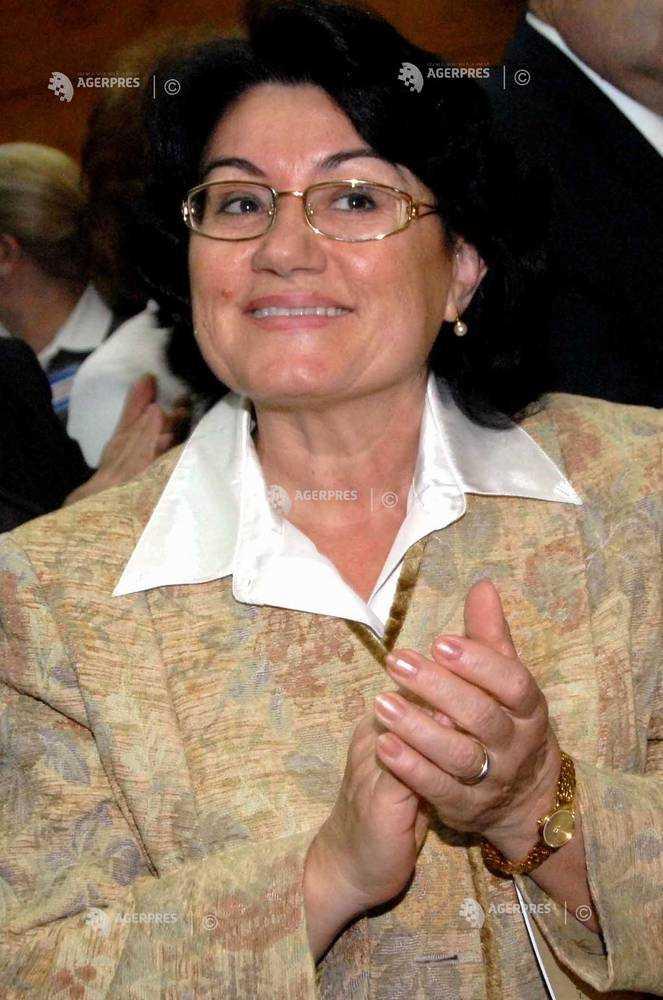 Elena Isărescu, soția guvernatorului BNR Mugur Isărescu